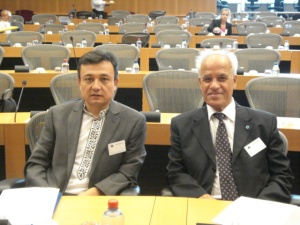 Conf at EU Parl 60 Years Democracy in China DOLKUN AND AYDINLI 2