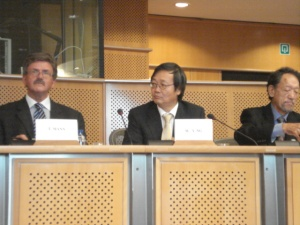 Conf at EU Parl MANN MAN-YAN Ng AND T. WANGDI