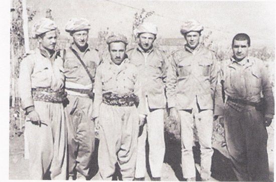 BARZANI WITH MOSSAD