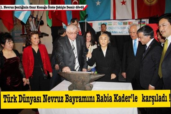 Rabiya Kadeer NAVRUZ 2013