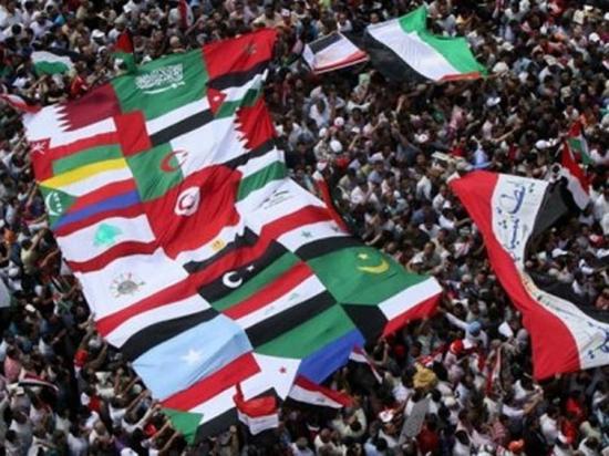 Spinelli debate Arab flags