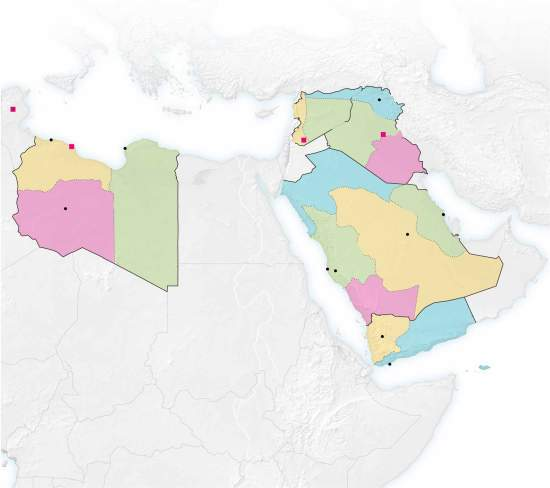 Breaking up the Arab countries
