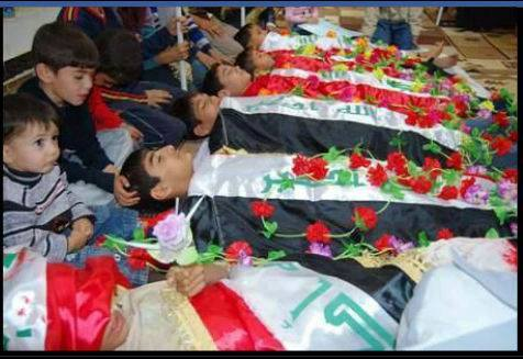 Turkmen children martyrs 6 oct 2013