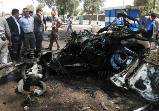 Kirkuk car bomb attack aug 16 2012