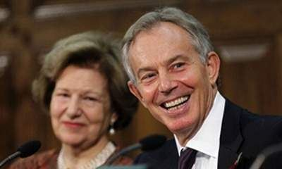 nicholson and tony blair