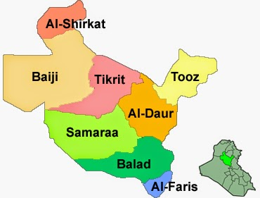 Salahedendistricts