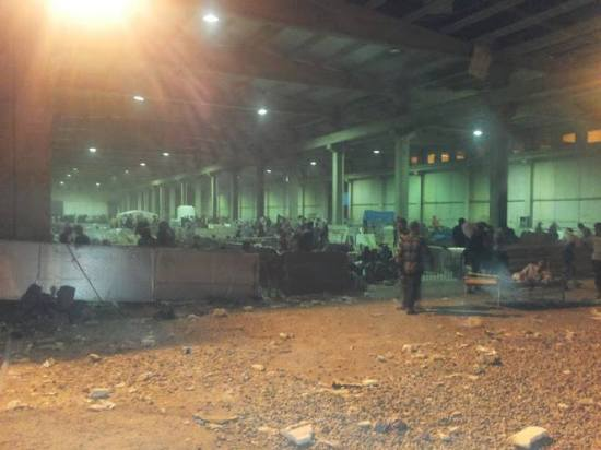 Turkmen IDs in warehouse Erbil