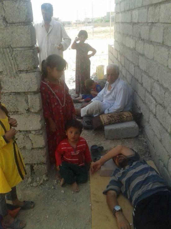 Turkmen refugees in Iraq 6