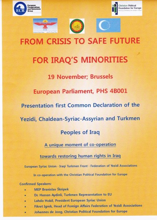 Poster 19 nov 2014 Present  Common Decl Turk Chri Yez