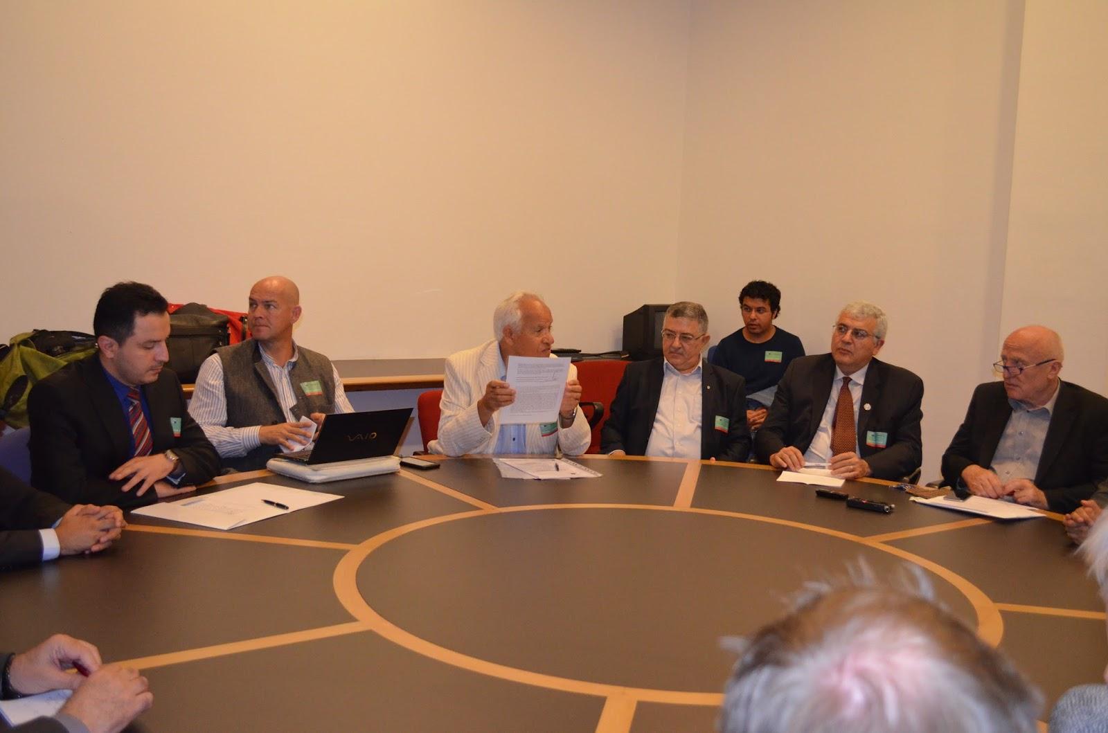 Dr  Hassan Aydinli, ITF EU representative received an