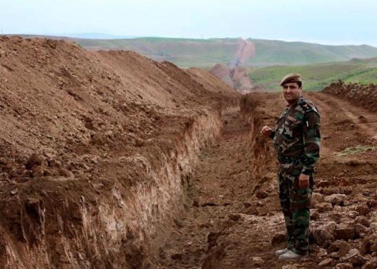 kurdish trench